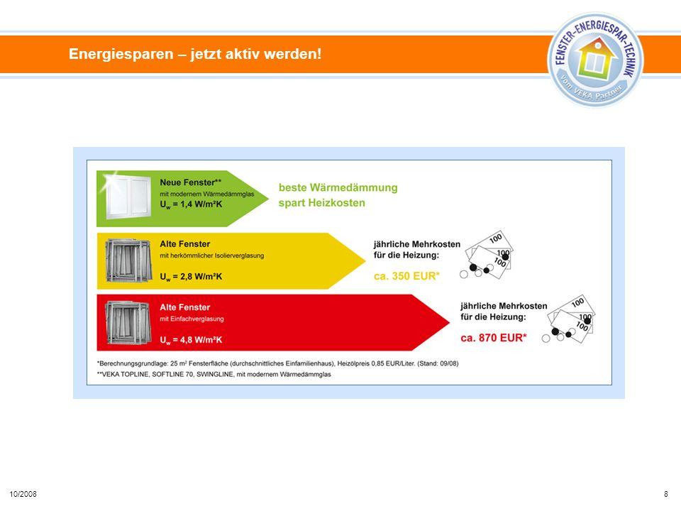 Energiesparen – jetzt aktiv werden! 810/2008