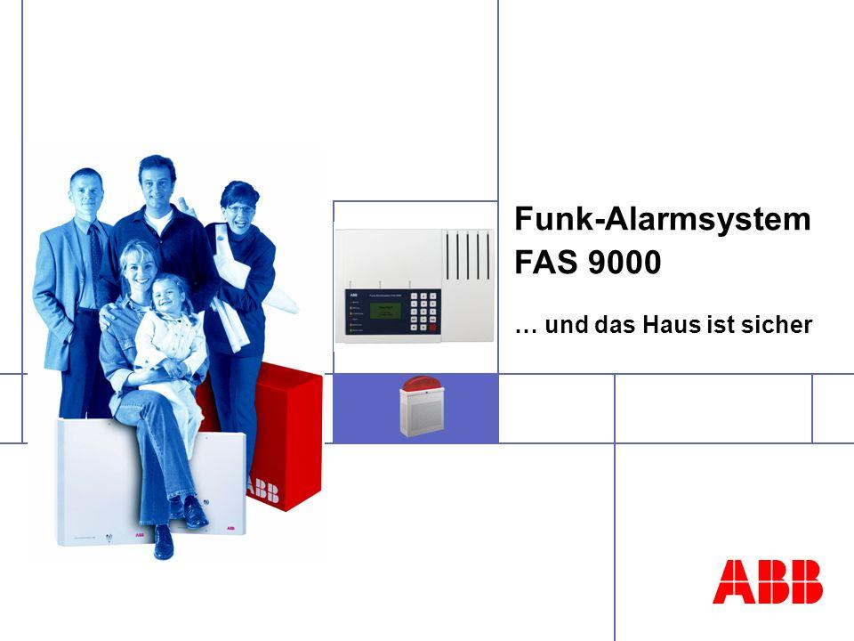© ABB STOTZ-KONTAKT GmbH, 2CDC 543 018 N0101, Seite 2 Funk-Alarmsystem Zur Überwachung von typischen Gefahren des Alltags in Wohngebäuden Räume mit wohnungsähnlicher Nutzung (z.B.