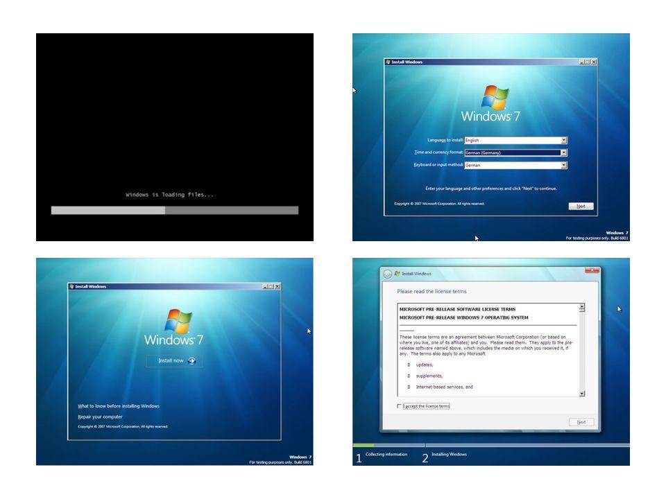 Aero Aero steht für Authentic, Energetic, Reflective, Open - die neue vektorbasierte Benutzeroberfläche von Windows.