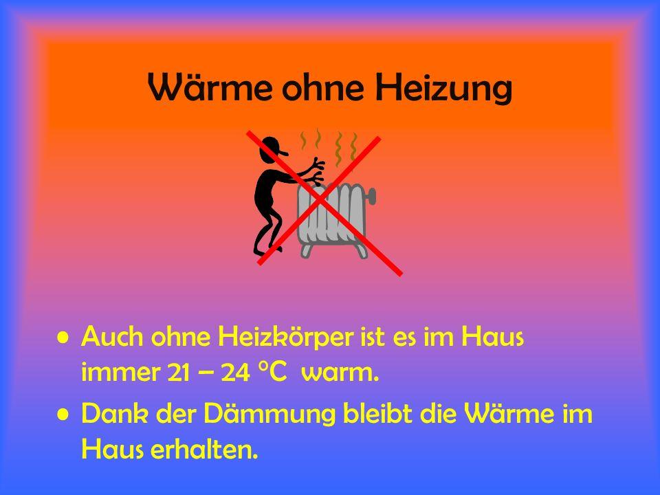 Erdwärmetauscher (EWT).... und wärmt im Winter sehr kalte Luft auf ca. 5°C vor.