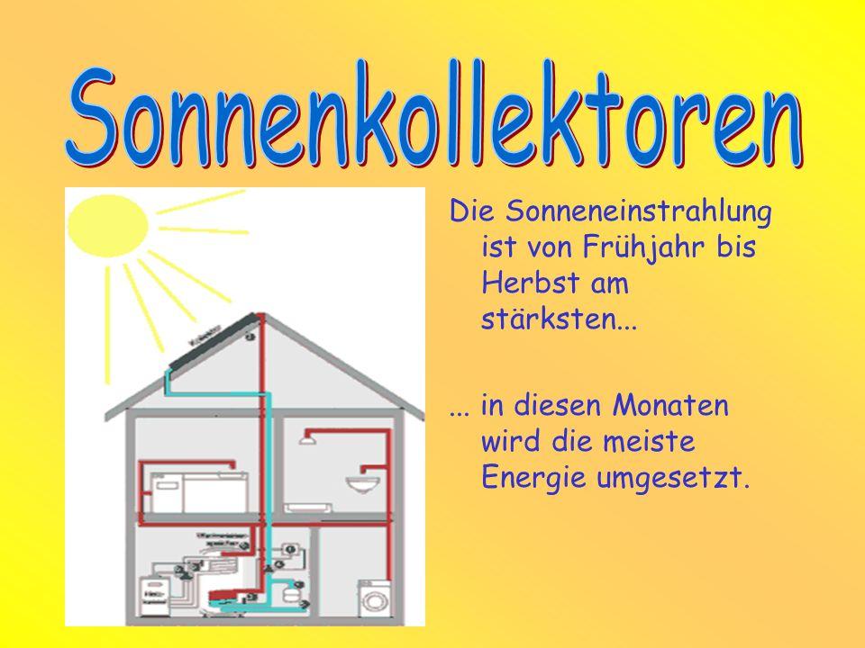 Die Absorberflüssigkeit nimmt die Wärme auf und gibt sie im Solarspeicher wieder ab. Das dadurch erhitzte Wasser kann mehrere Tage gespeichert werden!
