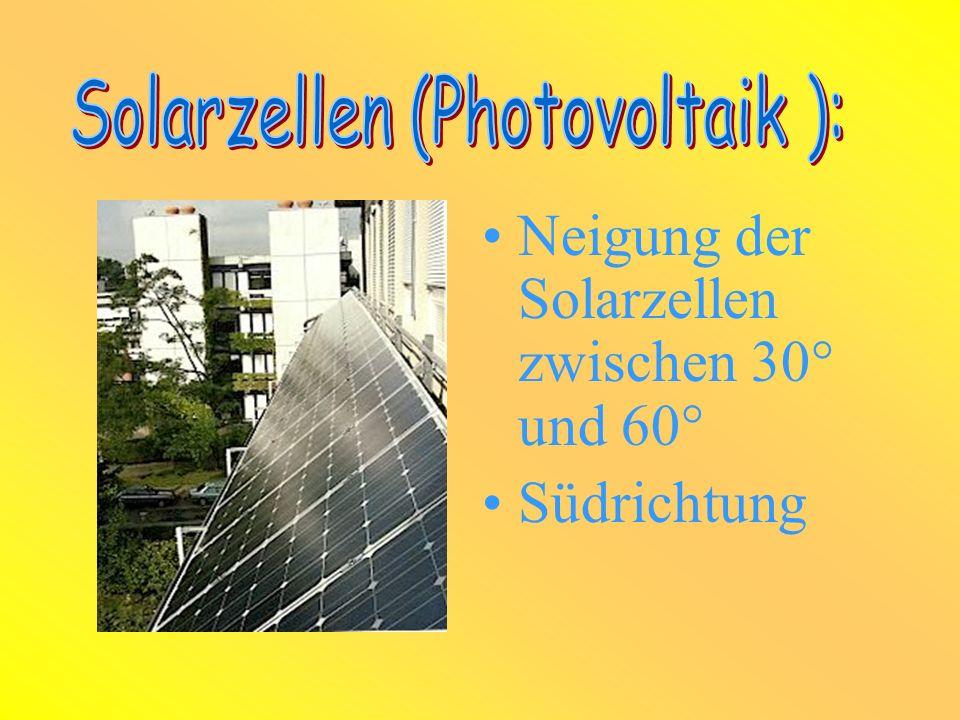 Wie eine moderne Schule...... hat auch das Haus der Zukunft natürlich eine Photovoltaikanlage