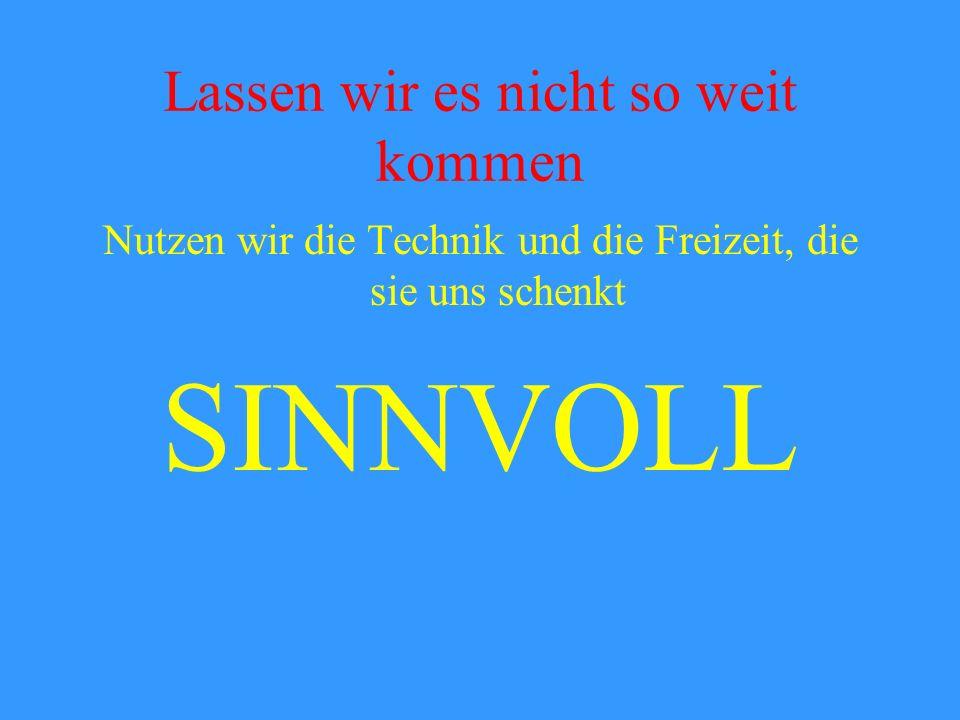 Verinselung Der Karlsruher Philosoph Peter Sloterdijk spricht von der Verinselung des Individuums im Computerzeitalter. Persönliche Kontakte verkümmer