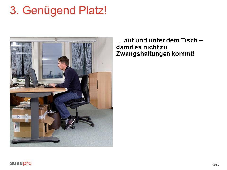 Seite 20 Infomittel, Publikationen www.suva.ch/waswo Merkblatt «Bildschirmarbeit», Bestell-Nr.