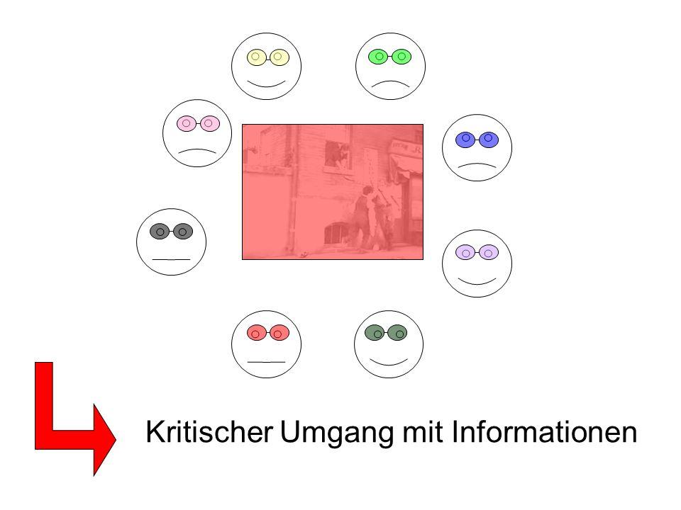 Kritischer Umgang mit Informationen