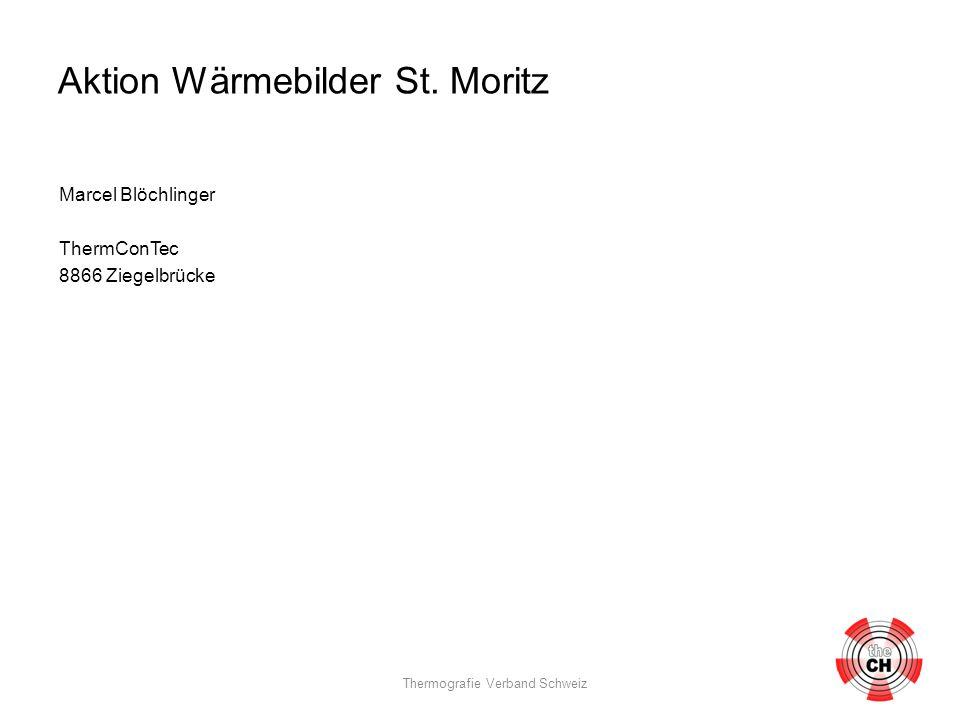 Aktion Wärmebilder St.Moritz Gemeinde St. Moritz EW St.