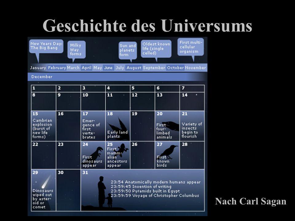 Geschichte des Universums Nach Carl Sagan