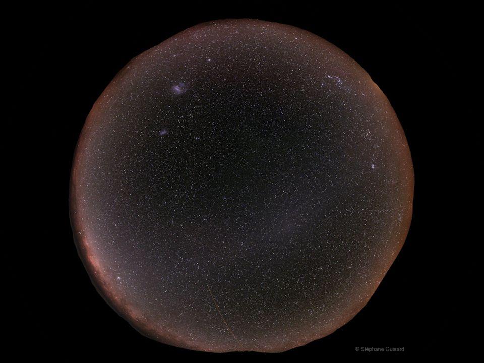 Der beobachtbare Nachthimmel
