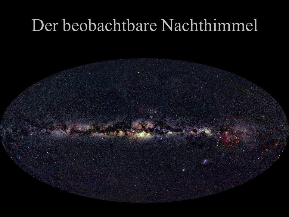 Das unsichtbare Universum Grosse Teile des Universums sind dunkel Dunkle (nicht leuchtende Materie) ist überall –e.g.