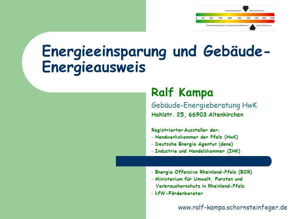 Energiesparberatung In einer Energieberatung wird Ihr Gebäude auf energetische Verbesserungs- Sanierungsmöglichkeiten untersucht.