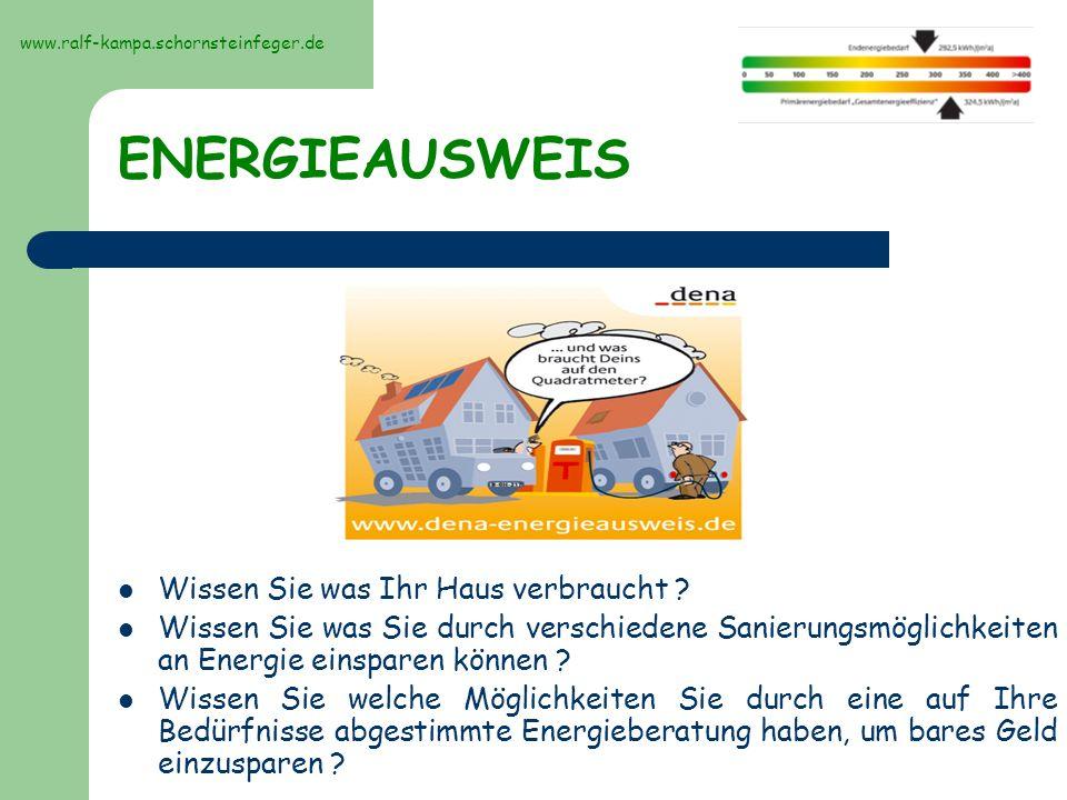 Aussehen, Bilder des Energieausweises Erfassung der Gebäudehülle mit Foto www.ralf-kampa.schornsteinfeger.de