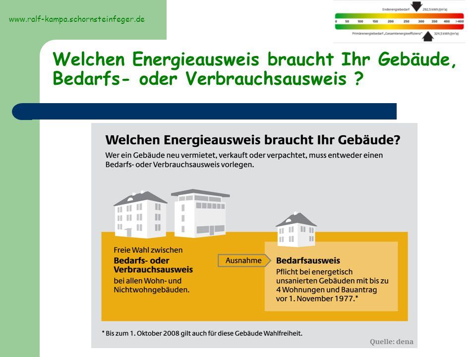 Beispielbilder Energieberatung Bewertung des Gebäudes im IST-Zustand www.ralf-kampa.schornsteinfeger.de
