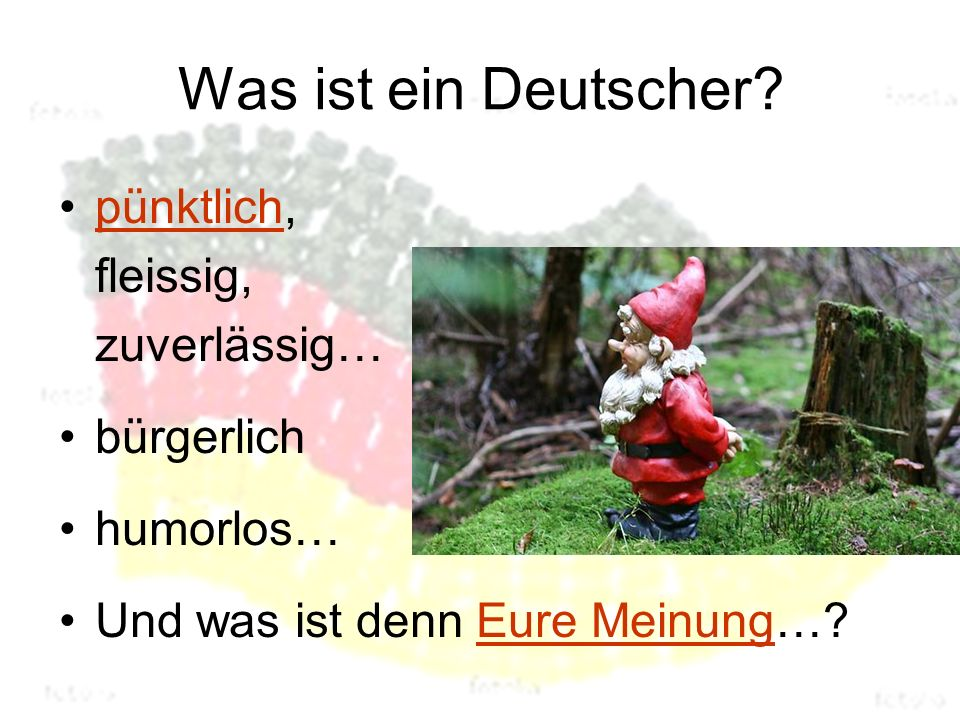 Was ist ein Deutscher.