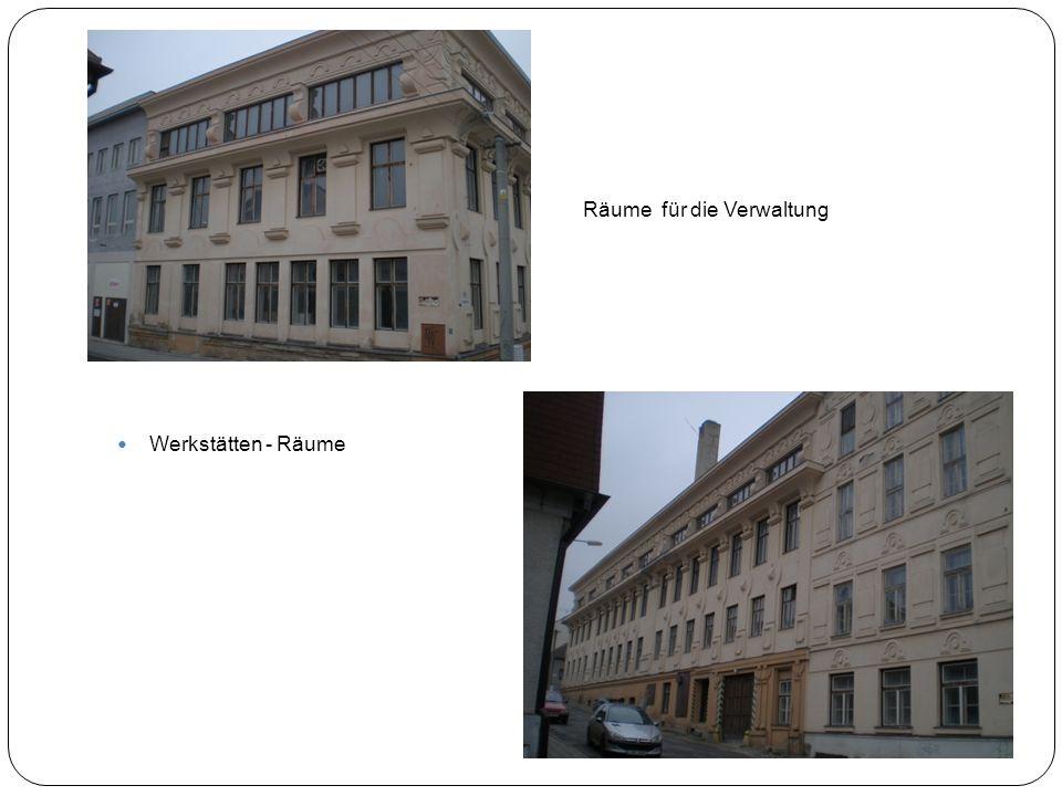 Räume für die Verwaltung Werkstätten - Räume