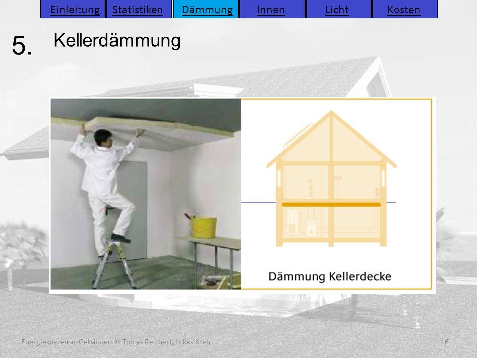Energiesparen an Gebäuden (C) Tobias Reichert, Lukas Kreh 16 Energiesparen an Gebäuden (C) Tobias Reichert, Lukas Kreh 16 Energiesparen an Gebäuden (C