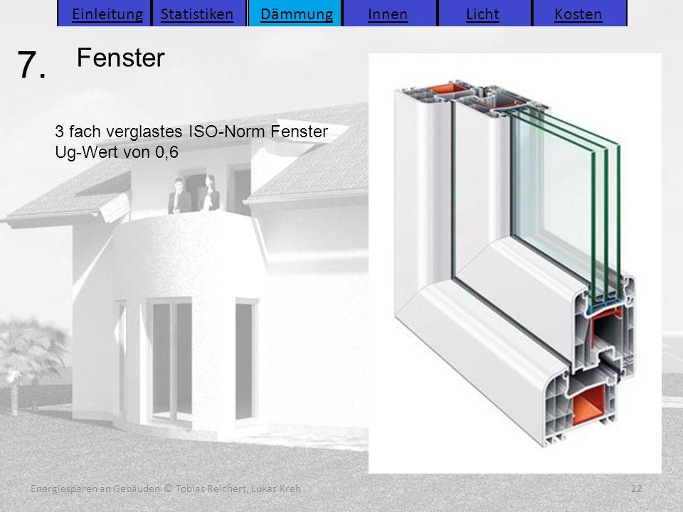 Energiesparen an Gebäuden (C) Tobias Reichert, Lukas Kreh 22 Energiesparen an Gebäuden (C) Tobias Reichert, Lukas Kreh 22 Energiesparen an Gebäuden (C