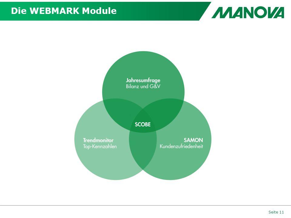 Die WEBMARK Module Seite 11