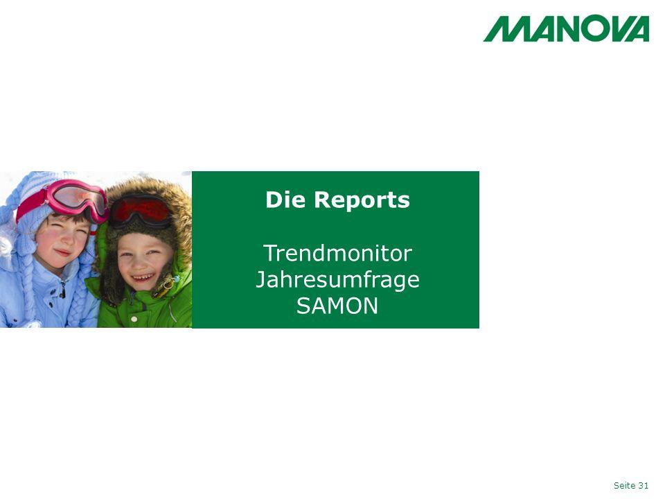 Die Reports Trendmonitor Jahresumfrage SAMON Seite 31