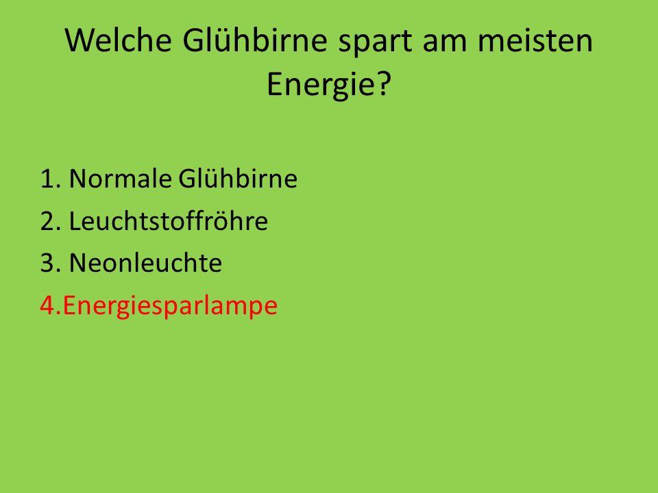 Wie spart man Energie.1)Das Fenster aufmachen. 2)Durch Energie Sparlampen.