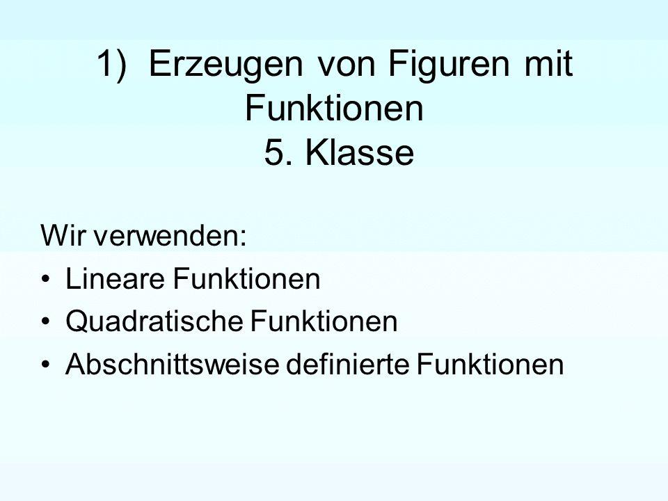 1) Erzeugen von Figuren mit Funktionen 5.