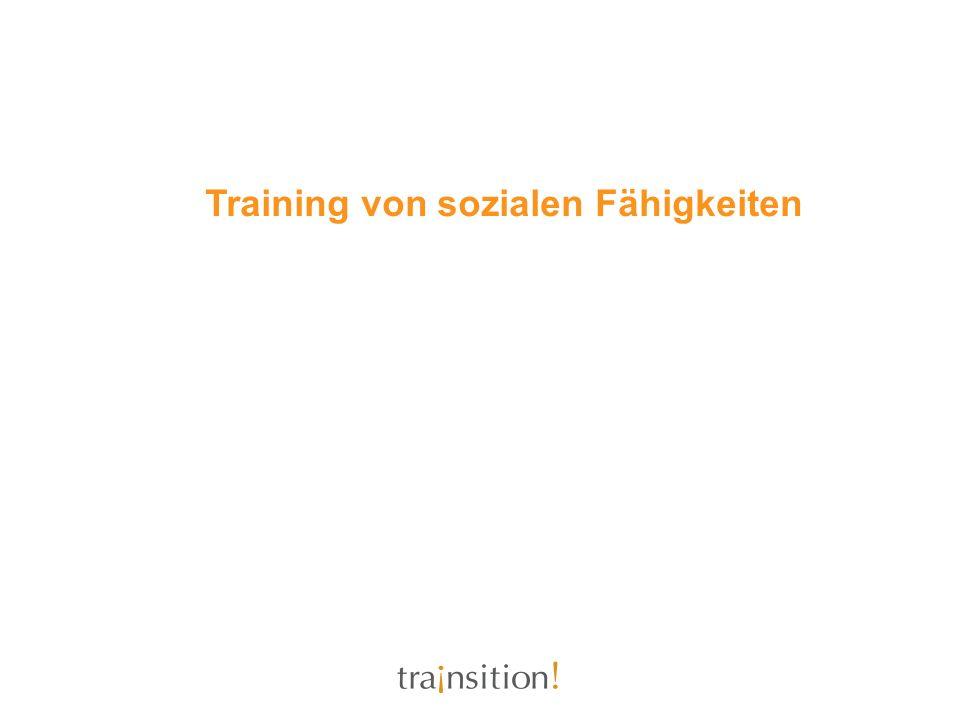 Training von sozialen Fähigkeiten
