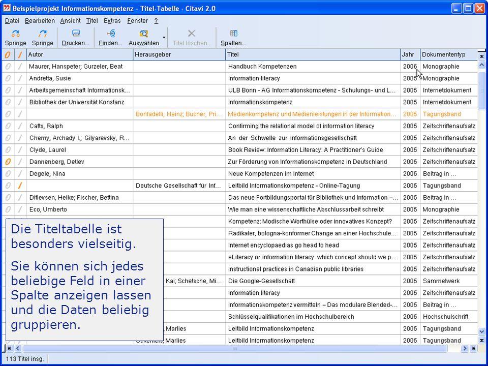 -Einführung 10/31 Online recherchieren