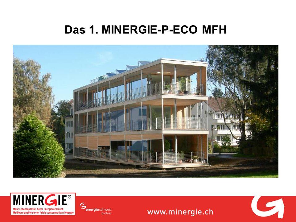 Das 1. MINERGIE-P-ECO MFH