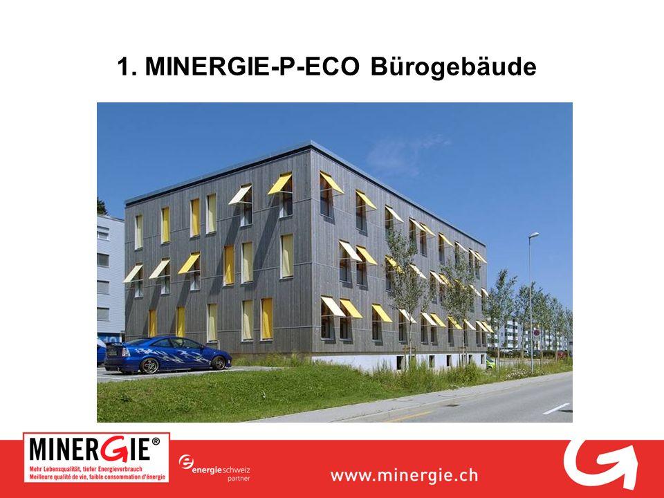 1. MINERGIE-P-ECO Bürogebäude