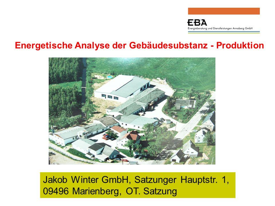 Jakob Winter GmbH, Satzunger Hauptstr.1, 09496 Marienberg, OT.