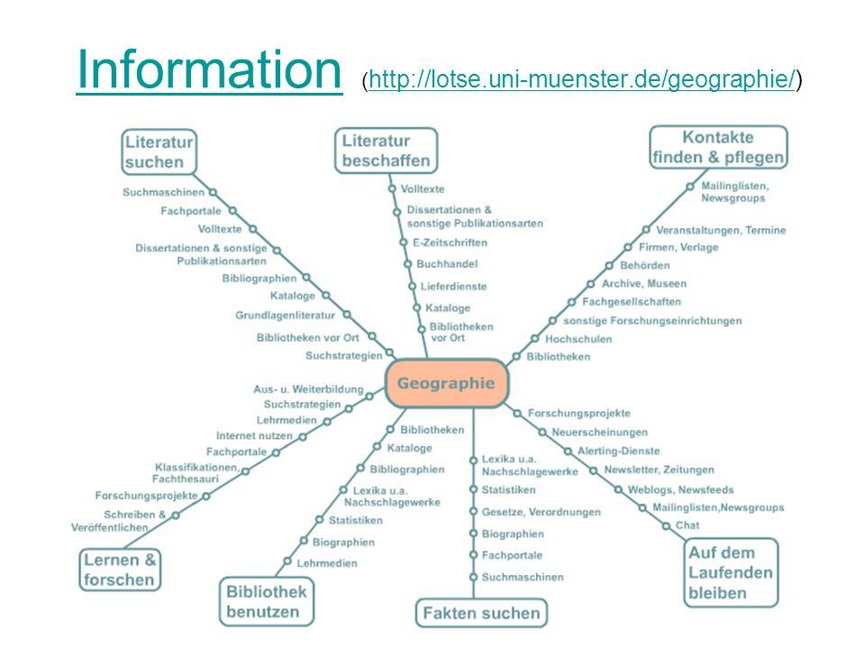 Informationskompetenz ist nicht = Medienkompetenz, ist nicht = Computerkompetenz, ist aber...