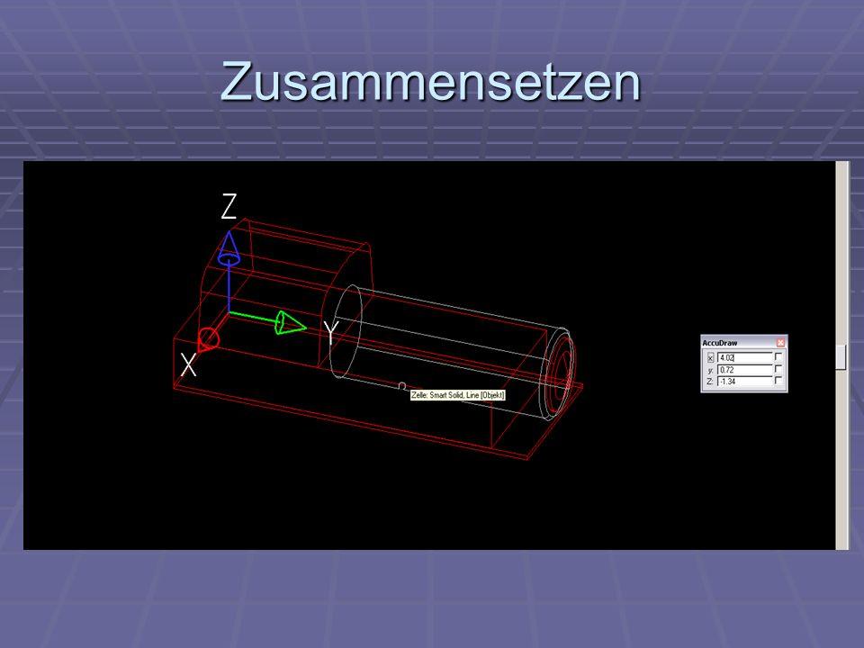 Phase 2 Unterteil 2 Elemente -Räder - Unterbau