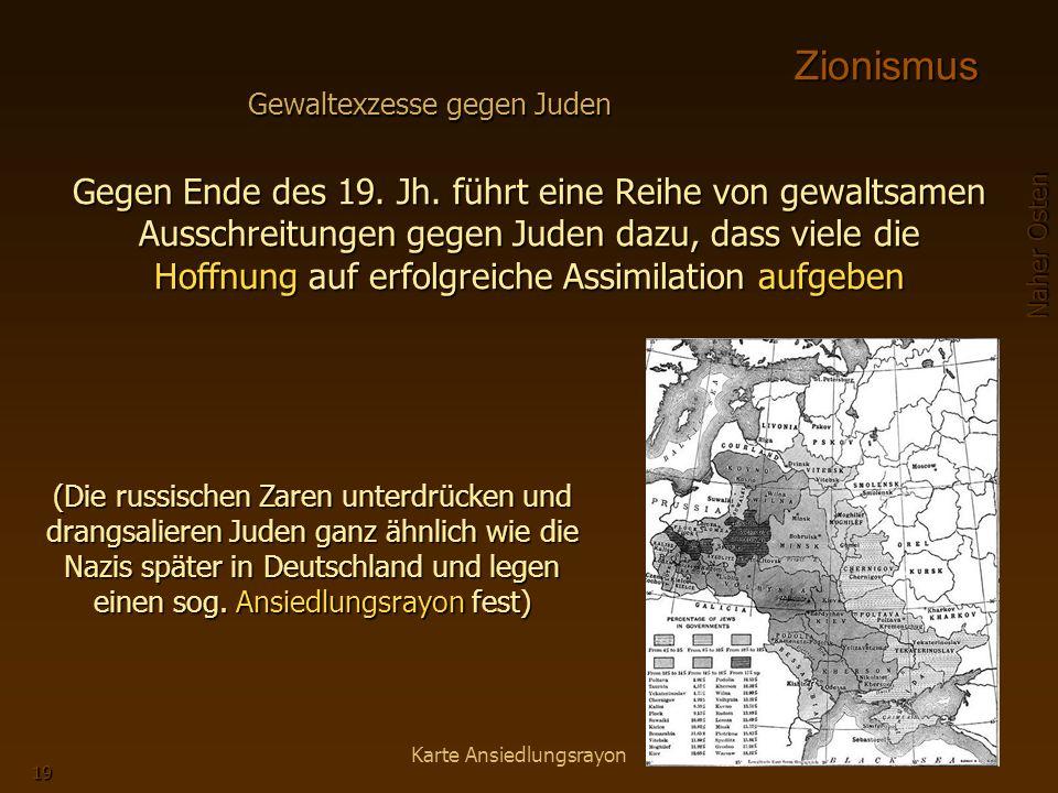 Naher Osten 19 Gegen Ende des 19.Jh.