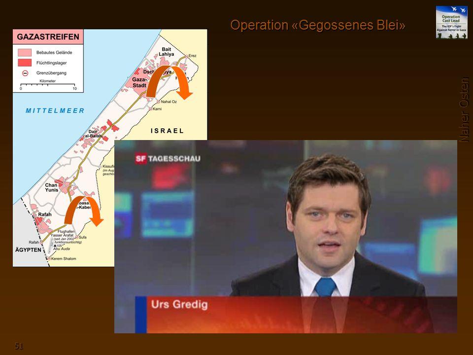 Naher Osten 51 Operation «Gegossenes Blei» Qassam-Raketen steigen aus dem Gazastreifen Richtung Israel auf