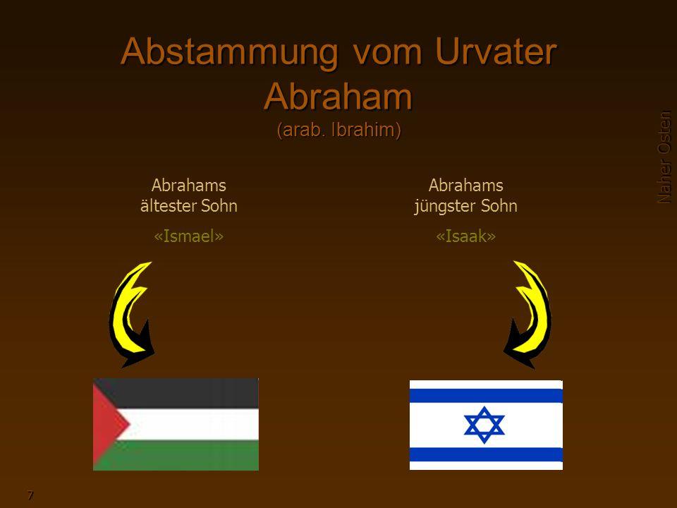 7 Abstammung vom Urvater Abraham (arab.