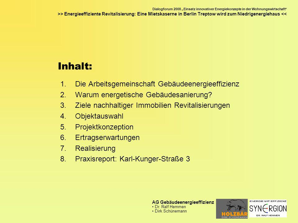 Dialogforum 2008 Einsatz innovativer Energiekonzepte in der Wohnungswirtschaft >> Energieeffiziente Revitalisierung: Eine Mietskaserne in Berlin Trept