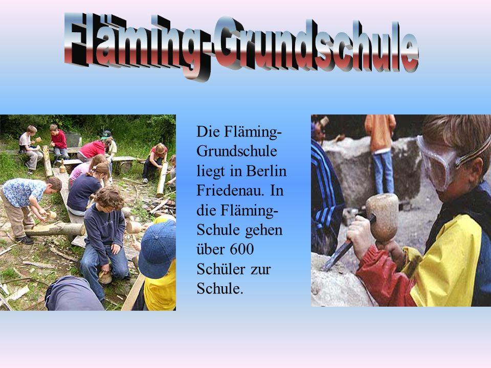 Die Fläming- Grundschule liegt in Berlin Friedenau.