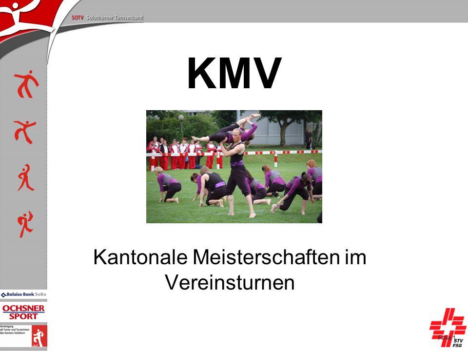 P+L-Konferenzen 2004, SOTV-Fenster KMV Kantonale Meisterschaften im Vereinsturnen Folie 1