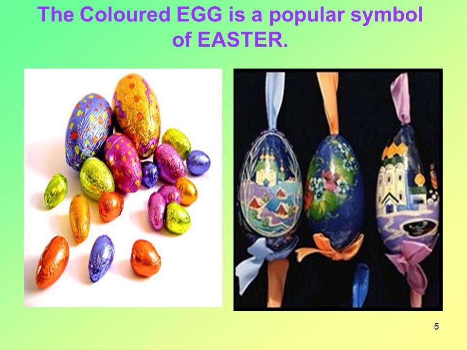 6 Früher gewannen die Leute die Farben für die Ostereier aus Pflanzensäften.