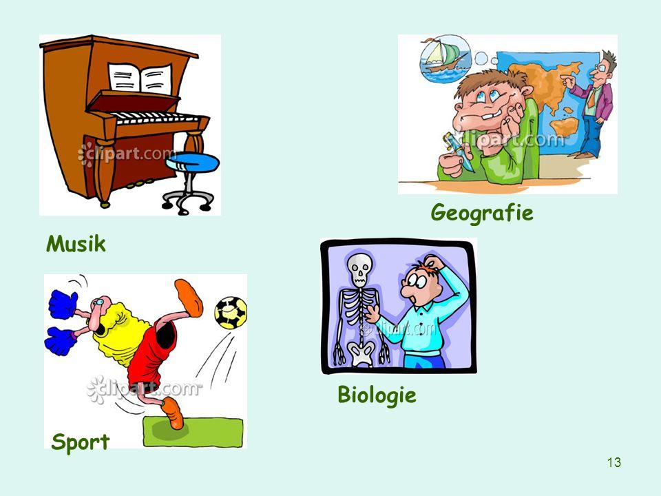 13 Musik Sport Biologie Geografie
