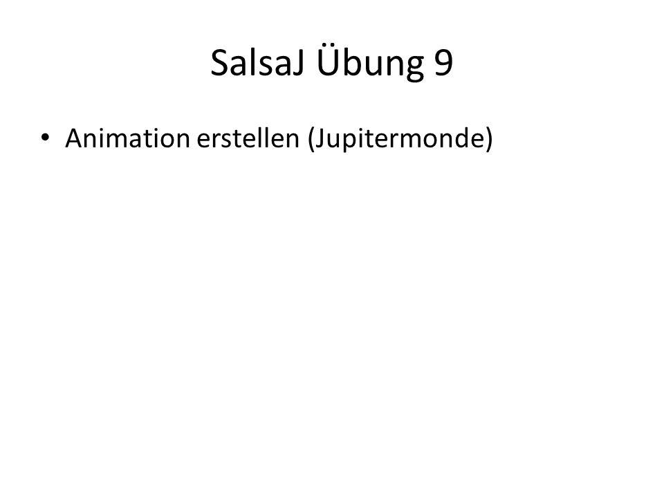 SalsaJ Übung 9 Animation erstellen (Jupitermonde)