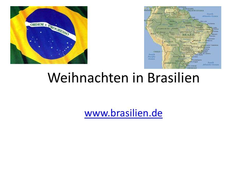 Weihnachten in Brasilien www.brasilien.de