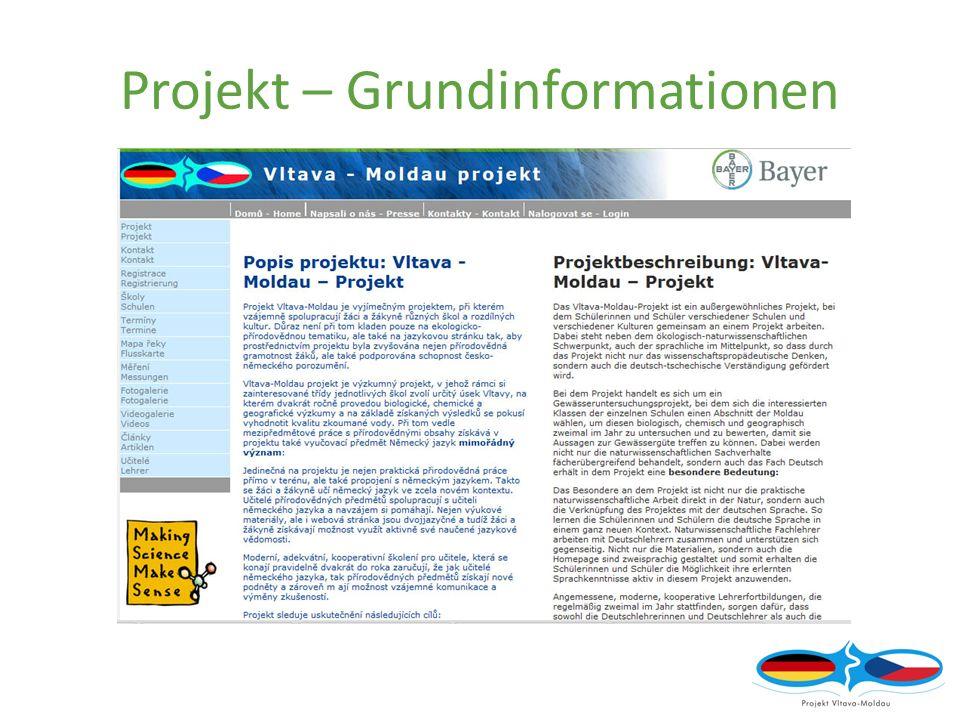 Projekt – Grundinformationen