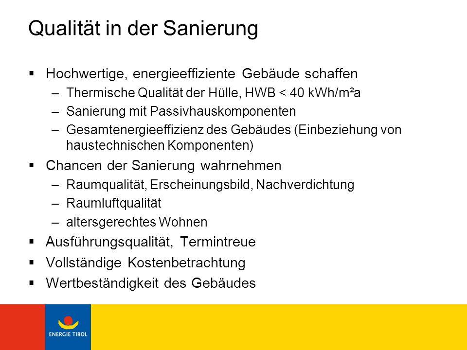 Sanierung Haus Jünnemann, Lienz Vor Sanierung