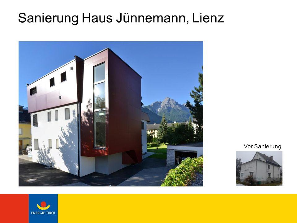 Sanierung Haus Jünnemann, Lienz Bauherr: Mag.