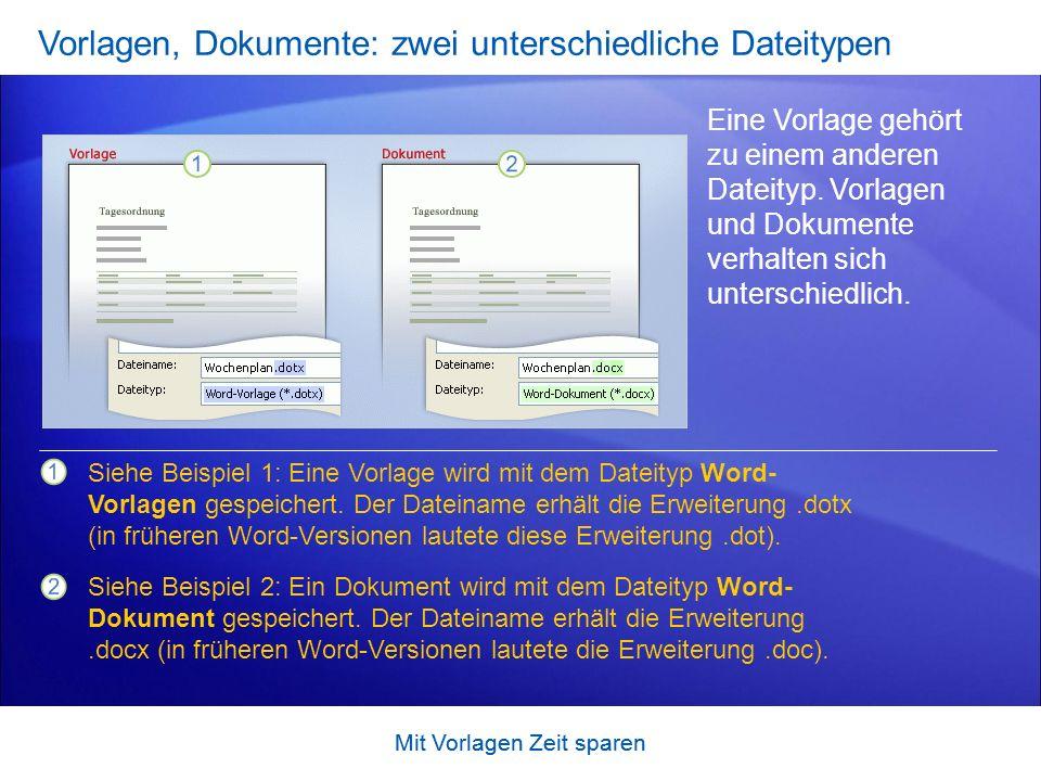 Mit Vorlagen Zeit sparen Übungsvorschläge 1.Verwenden einer Vorlage für einen Geschäftsbrief 2.Hinzufügen von eigenem Brieftext 3.Verwenden einer Vorlage für einen Handzettel OnlineübungOnlineübung (Word 2007 erforderlich)