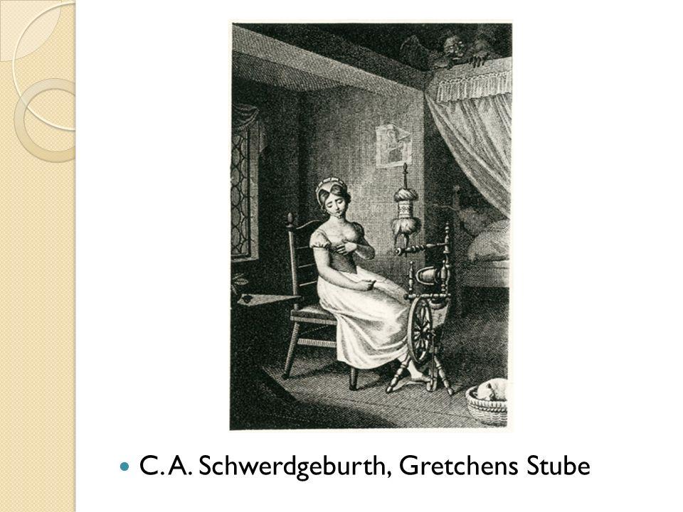 C. A. Schwerdgeburth, Gretchens Stube