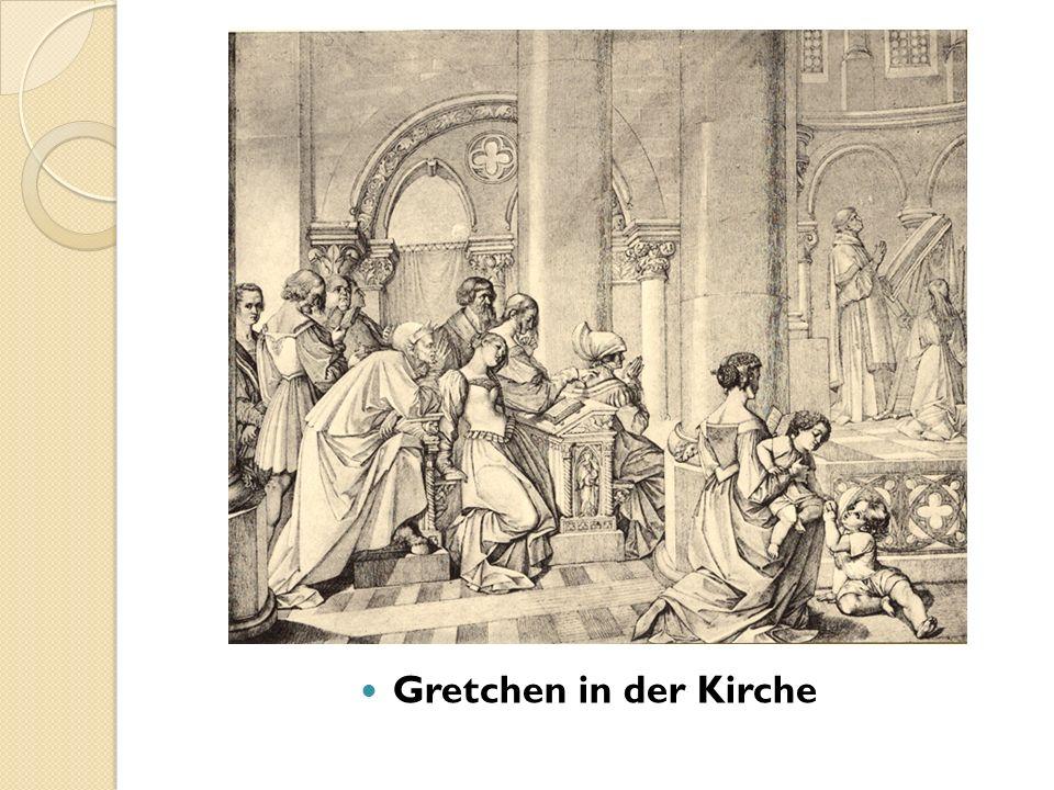 Gretchen in der Kirche