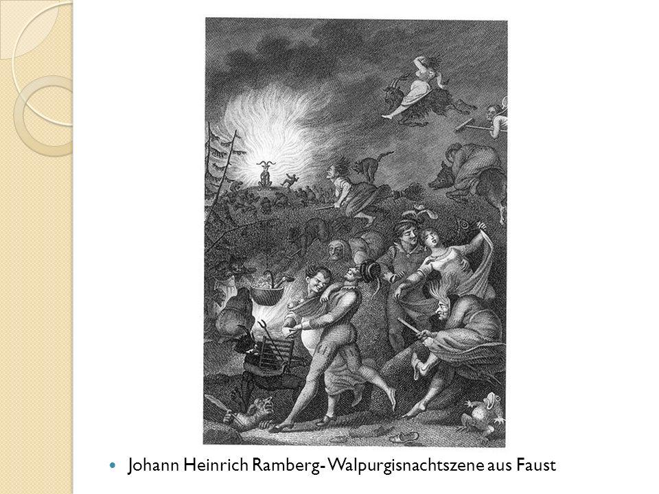 Johann Heinrich Ramberg- Walpurgisnachtszene aus Faust