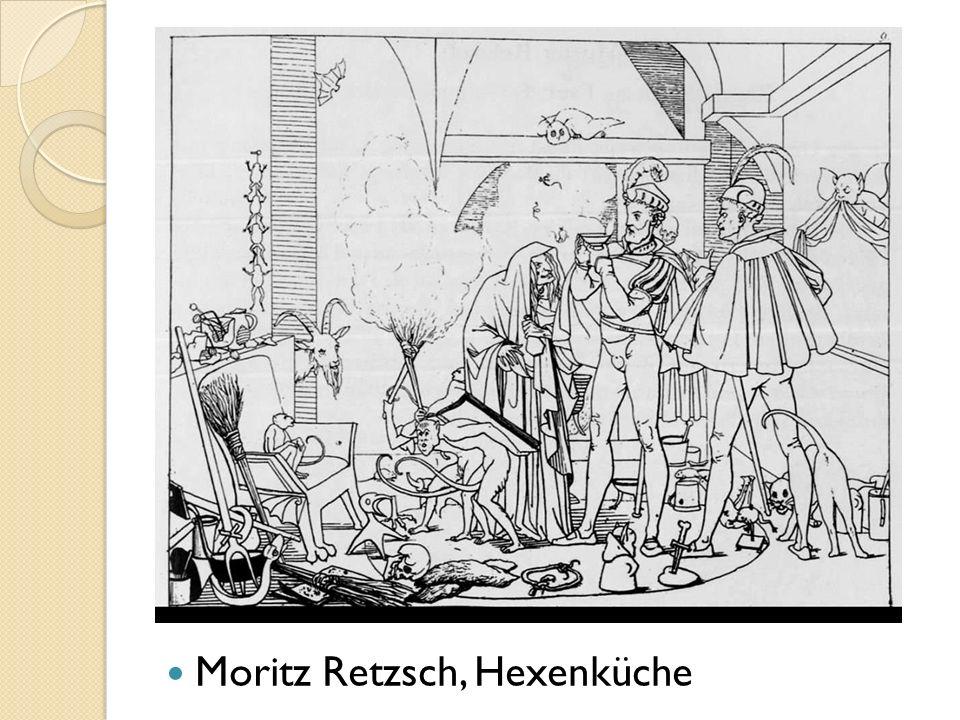 Moritz Retzsch, Hexenküche