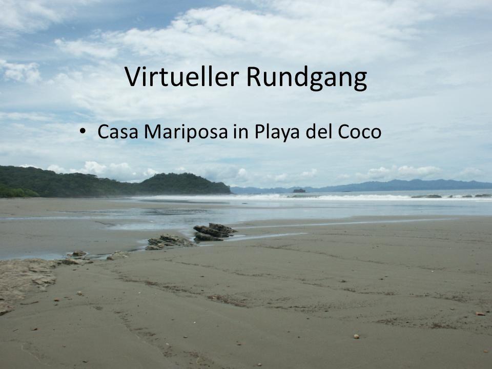 Virtueller Rundgang Casa Mariposa in Playa del Coco
